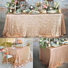 party, tableclothround, Boda, tablecover