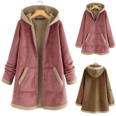 Fleece, shaggy, Winter, Zip