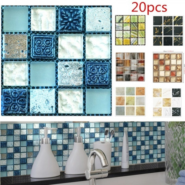 decoration, Home & Living, Stickers, waterprooftilesticker