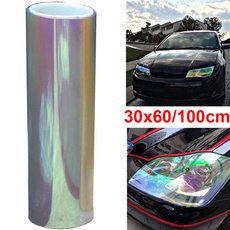 multifuctional, colorchanging, tint, carheadlightfilm
