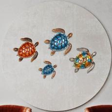 Turtle, decoration, Decor, Wall Art