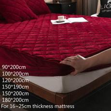 mattress, velvet, Winter, Coral