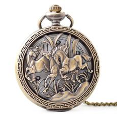 Pocket Watches, horse, Chain, Pocket