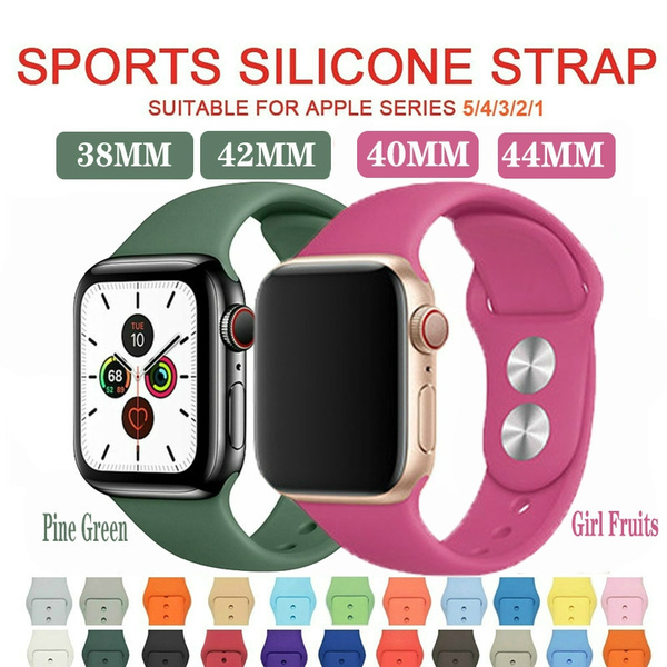 iwatch44mmband, iwatchstrap38mm, Silicone, iwatchband42mm
