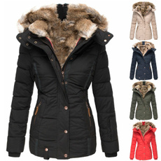thickwarmcoat, jacketforwomen, Plus Size, Long Sleeve