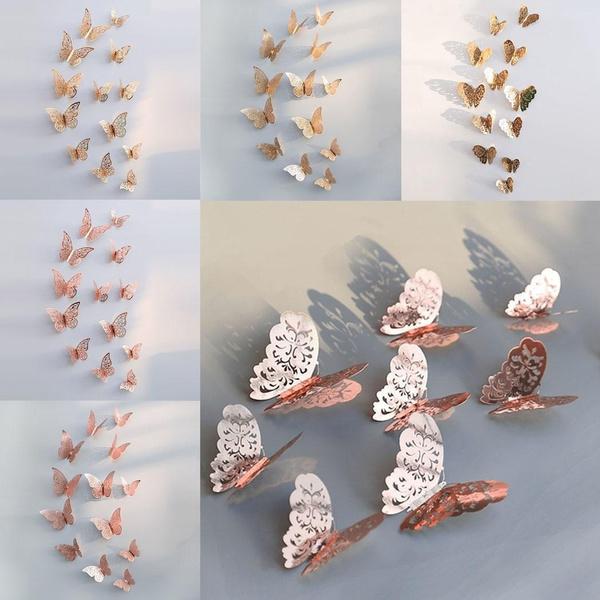 butterfly, butterflywallsticker, Home Decor, 3dwallsticker