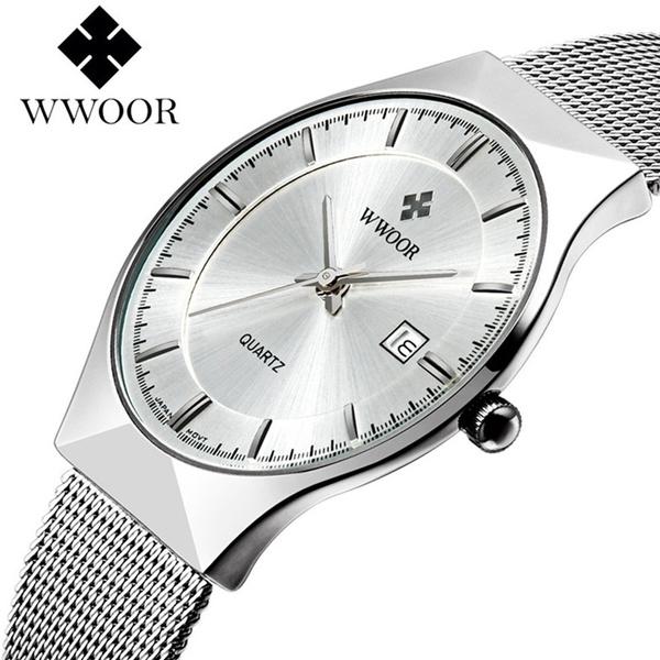wwoormenswatche, Steel, dial, Men Business Watch
