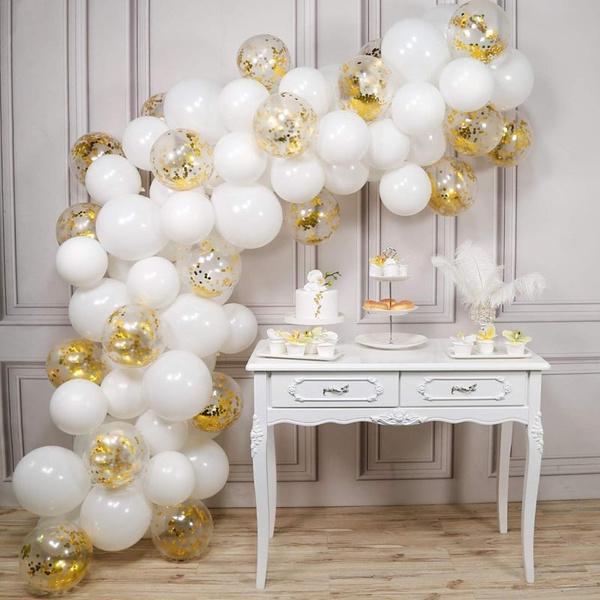 goldballoon, whiteballoon, Jewelry, gold