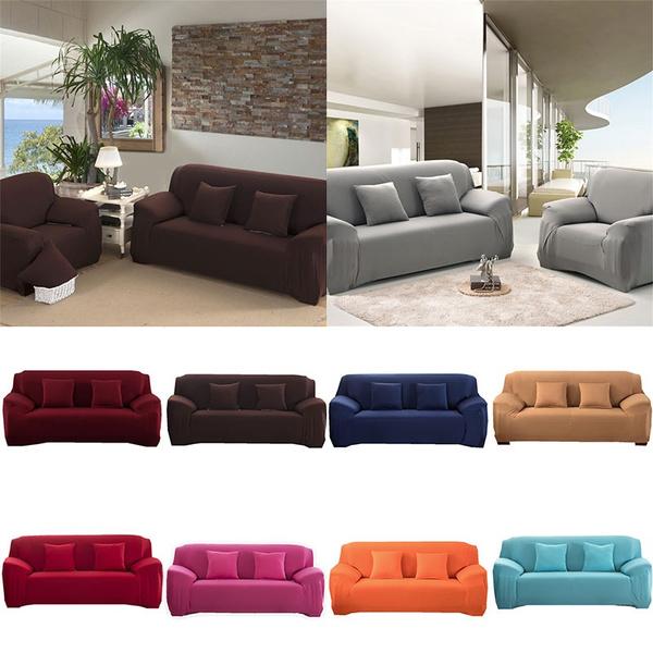 non-slip, Spandex, solid, Sofas