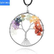 sevenchakrasnecklace, Jewelry, Gifts, pinkcrystal