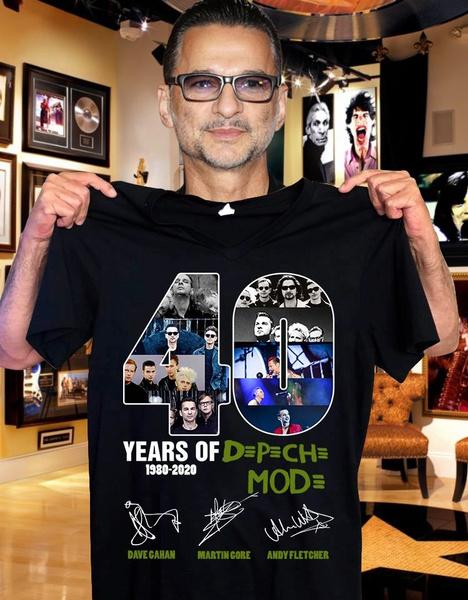 depechemodeshirt, electronicmusic, Cotton T Shirt, Tops