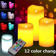 decorationcandle, Remote Controls, candlelight, colorchanging