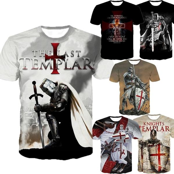 heroe, Fashion, Shirt, templar