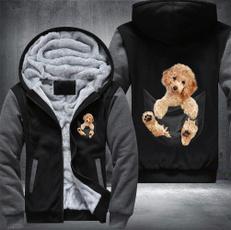 Funny, Fleece, Fashion, Winter