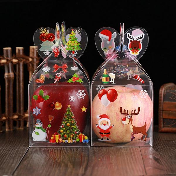 snowman, elk, candybox, appleboxe