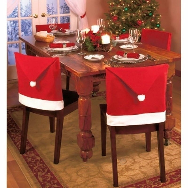 chaircover, Fashion, santaclauseredhat, tabledecorservingpiece