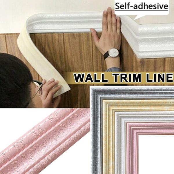 PVC wall stickers, borderskicker, Waist, Waterproof