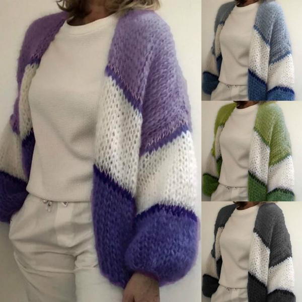 autumnwinter, Fashion, sweatercardigan, Sleeve