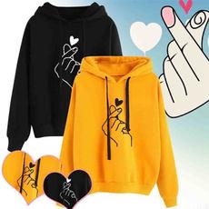 Heart, hooded, Sleeve, Long Sleeve