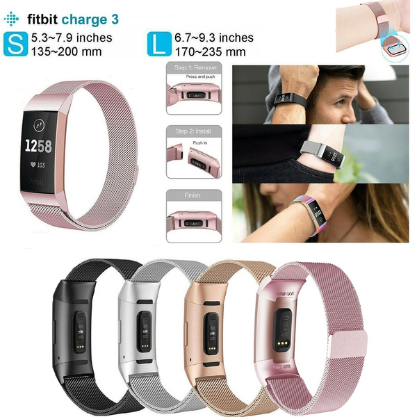 Steel, charge3fitbitband, stainlesssteelband, Stainless Steel