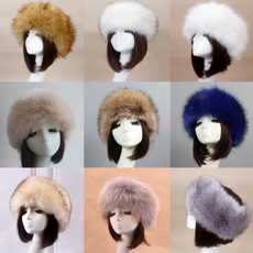 Fashion, fur, Winter, Head Bands