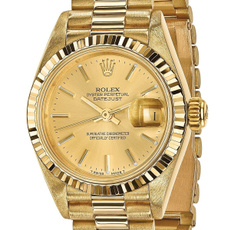 yellow gold, Jewelry, gold, Womens Watches