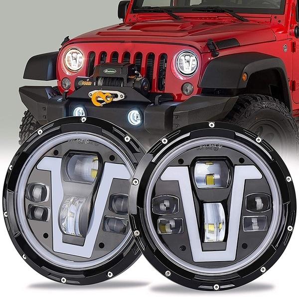 jeepwranglerjktjljcj, amber, 7inchroundheadlight, signallight