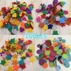 Craft, feltpad, heartsstarsfeltpad, fabricflowerpad