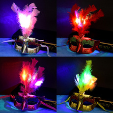 lighted, led, Masquerade, party