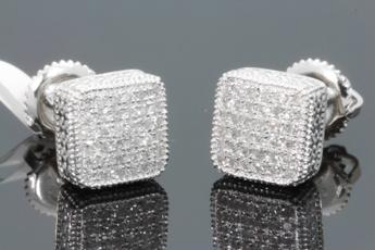 Sterling, Fashion Accessory, DIAMOND, Dangle Earring