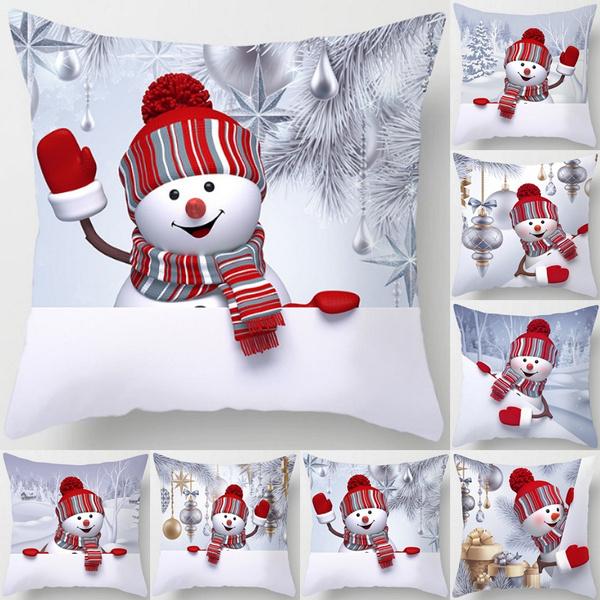 christmaspillowcase, Funny, Decor, Home Decor