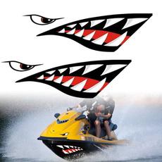 Funny, Shark, Waterproof, cardiysticker
