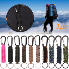 Rope, Carabiners, Outdoor, Key Chain