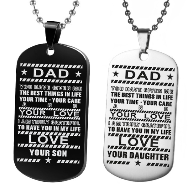 dad, Steel, Stainless Steel, Key Chain