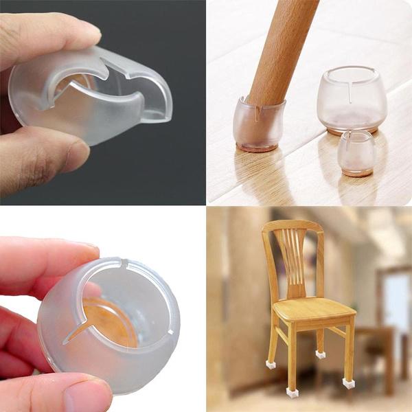 9//16pcs Anti Slip Chair Leg Cap Feet Pad Furniture Table Cover Floor Protect