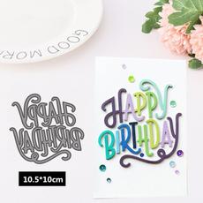 happybirthday, diyscrapbook, stencil, Computers