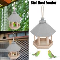 Outdoor, Wooden, house, birdsfeeder