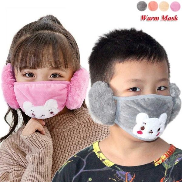 Outdoor, childrenmask, softwarmmask, Plush
