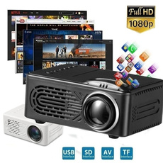 Multimedia, led, projector, cinema