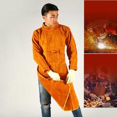 apron, cowhideapron, Electric, insulationandantiscalding