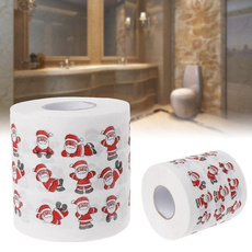 Funny, Bathroom Accessories, Towels, Christmas
