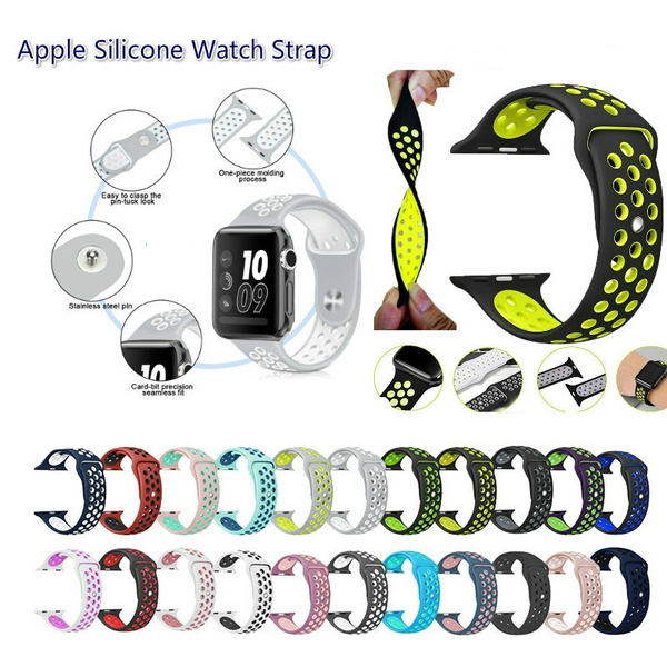 Apple, Wristbands, Band, Silicone