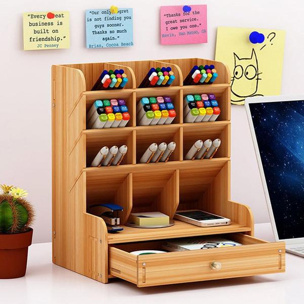 Box, officedeskorganizer, Office, pencil