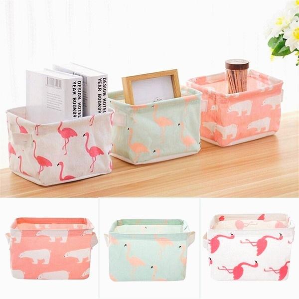 Box, foldstoragebox, flamingo, Beauty