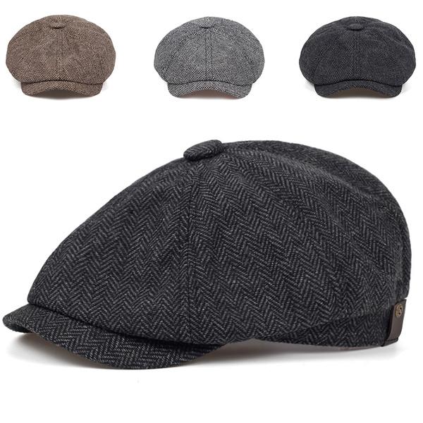 brown, Outdoor, beanies hat, Winter