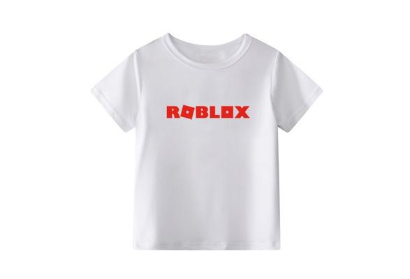 New Roblox Boys Girls Short Sleeve T Shirts Cotton Tops Tee Shirts New Cute Roblox Children S Cotton Short Sleeves T Shirt For Kids Boys Girls Roblox T Shirt Tee Tops For Children Wish