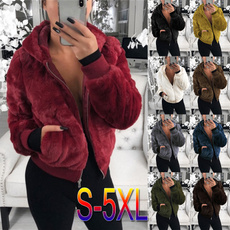 fur coat, Fashion, wintercoatswomen, fluffy