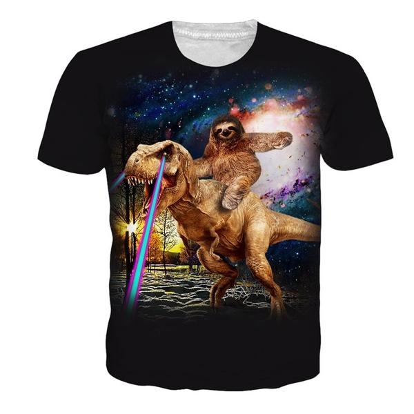 Summer, Fashion, Shirt, sloth