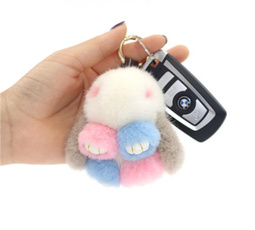 cute, rabbit, Phone, rabbitkeychain