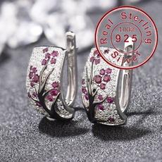 Sterling, DIAMOND, 925 sterling silver, Sterling Silver Earrings